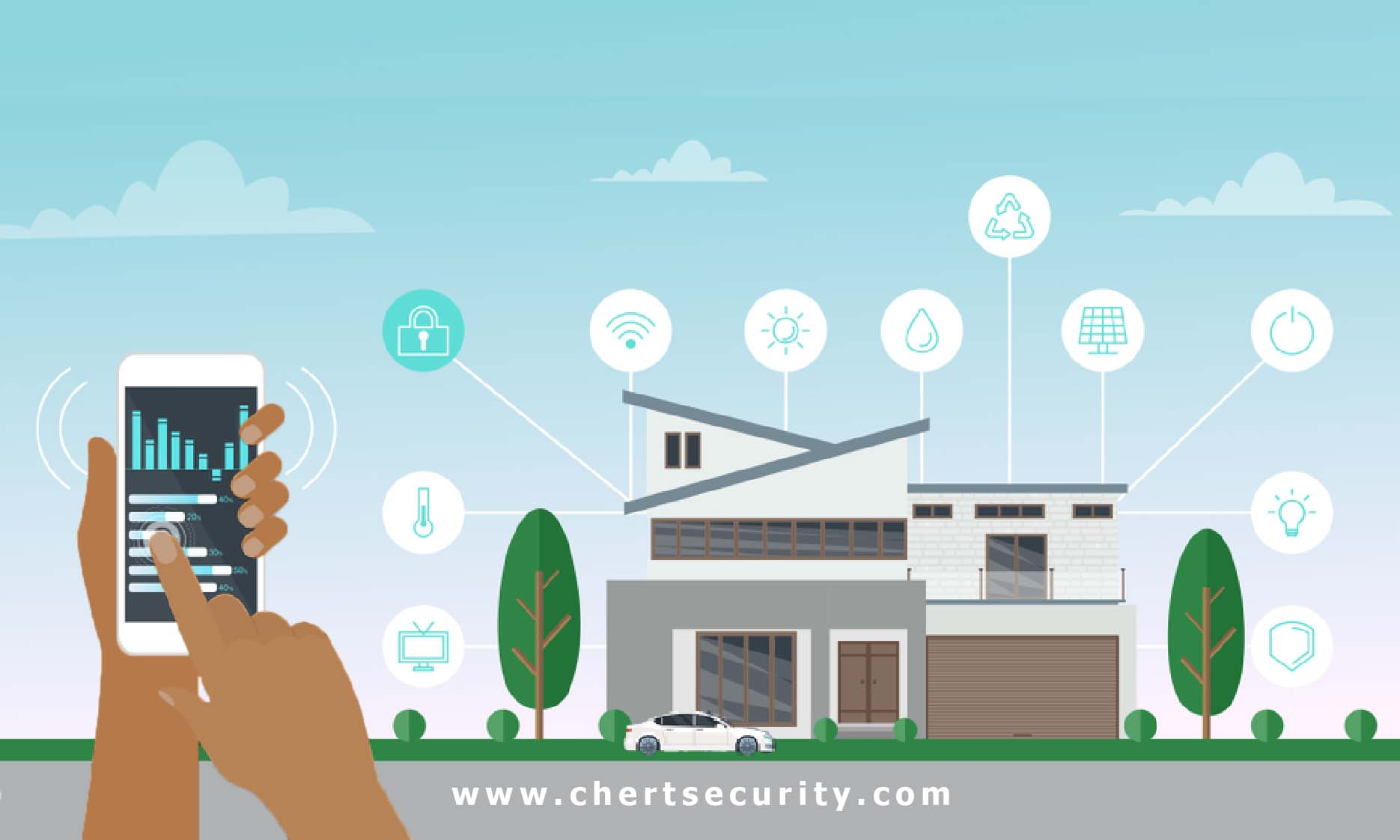 VULNERABILITIES ASSOCIATED WITH SMART HOMES